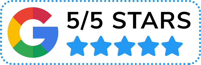 Google Reviews - 5/5 Stars